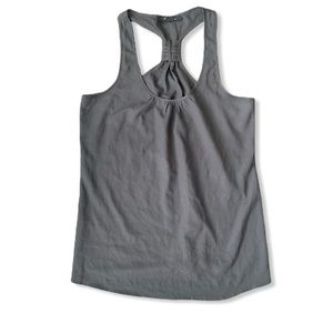 Forever 21 charcoal grey tank top racer back large